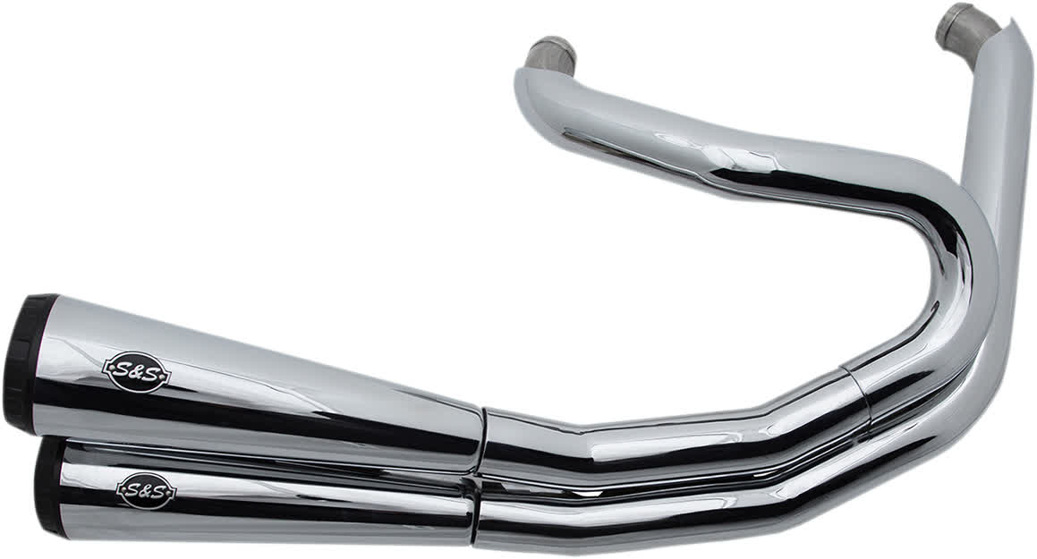 S&S Cycle 550-0743 Grand National Exhaust System 2:2 for Harley 06-17 Dyna