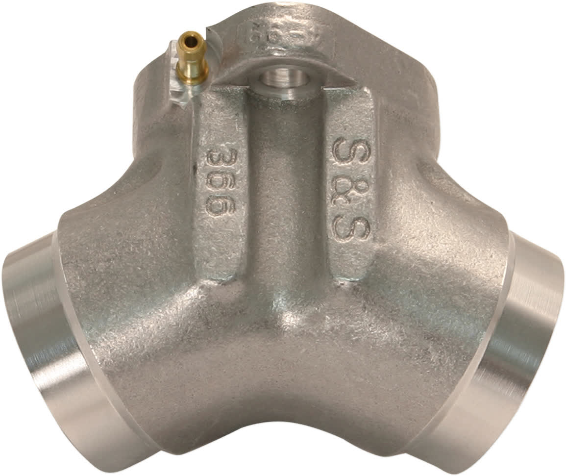 "S&S Cycle 16-1620 Manifold Ports 1-7/8"" #341 Natural 1984-'99 BT 1986-2003 XL"