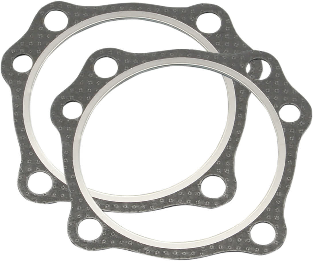 "S&S Cycle 930-0100 Gasket Head .043"" 4-1/8"" Graphite 304 SS 1984-Up BT 2 Pack"