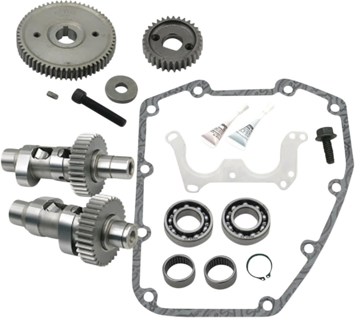 S&S Cycle 330-0339 635 HO Easy Start Gear Drive Camshaft Kit Harley 07-17 TC