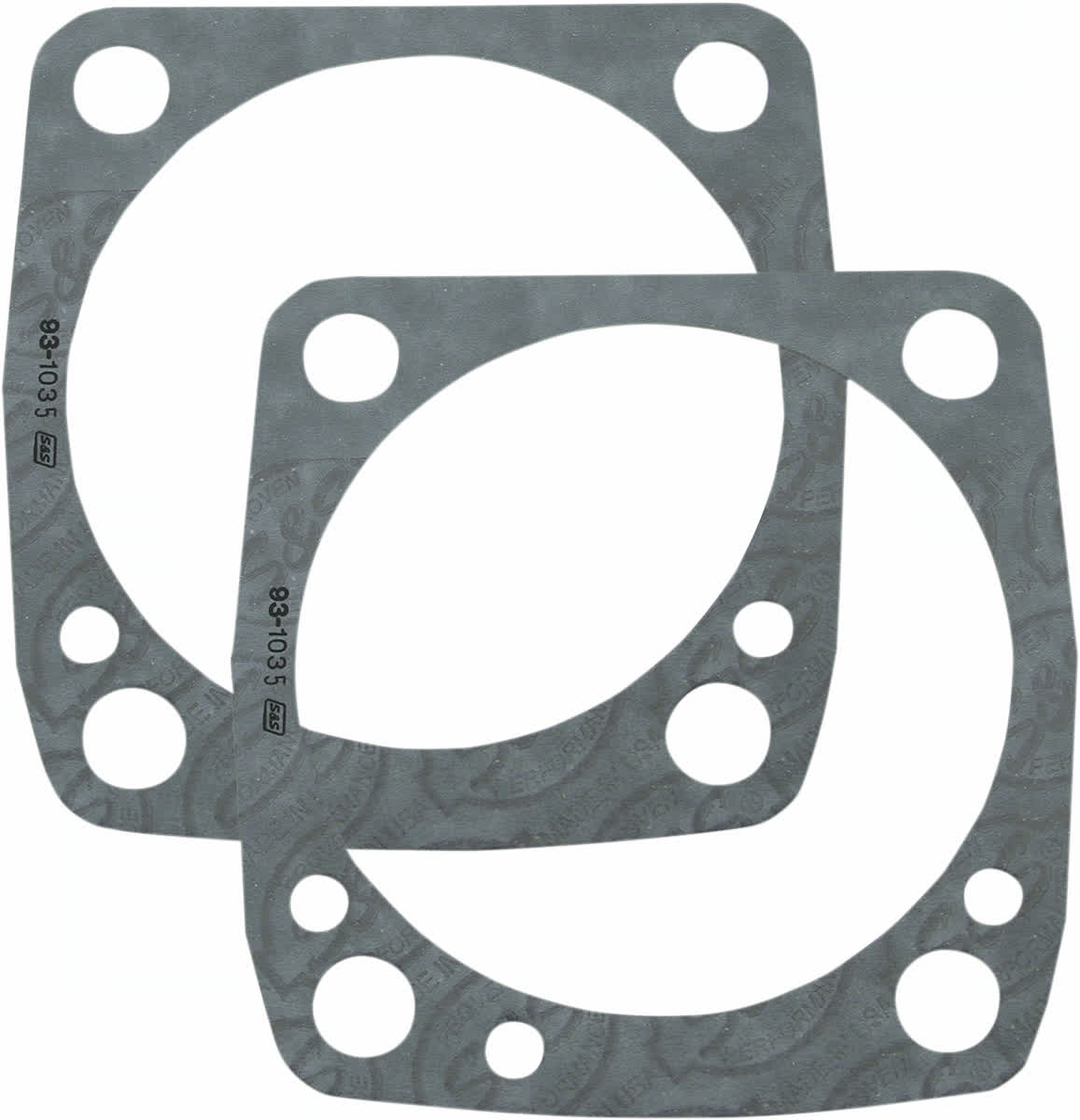 S&S Cycle 930-0092 Base Gasket 3-1/2in. Bore .018in.