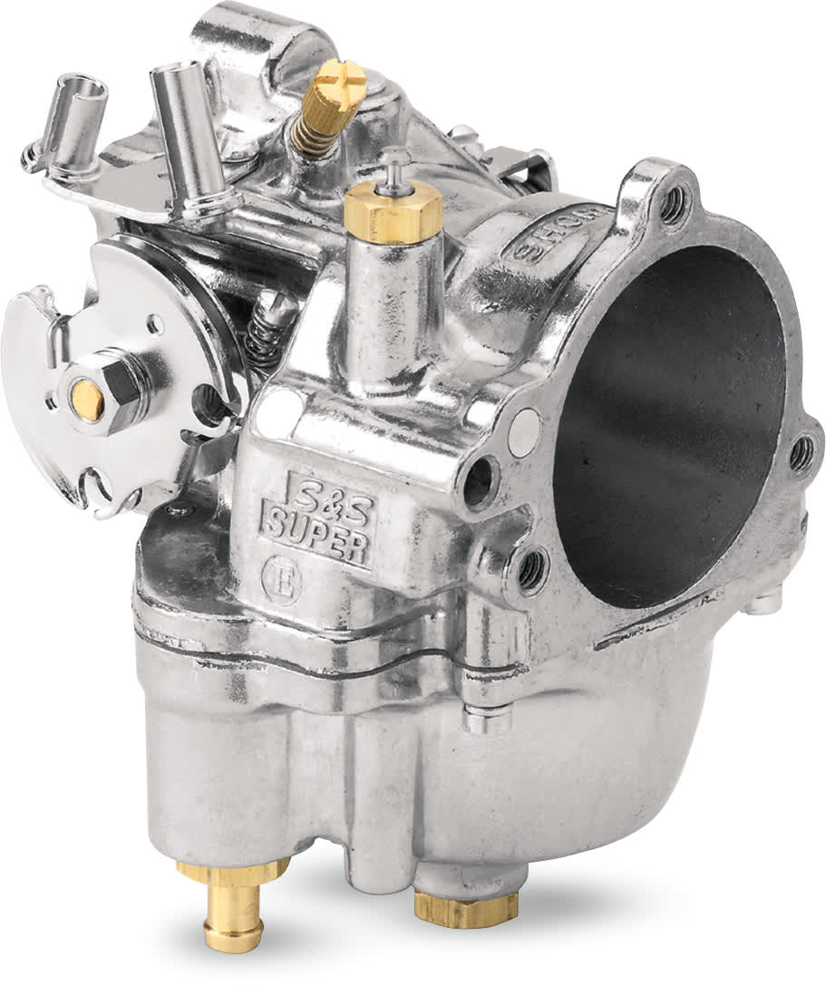 S&S Cycle 11-0420 Super E Shorty Carburetor w/Jets for Harley Big Twin & XL