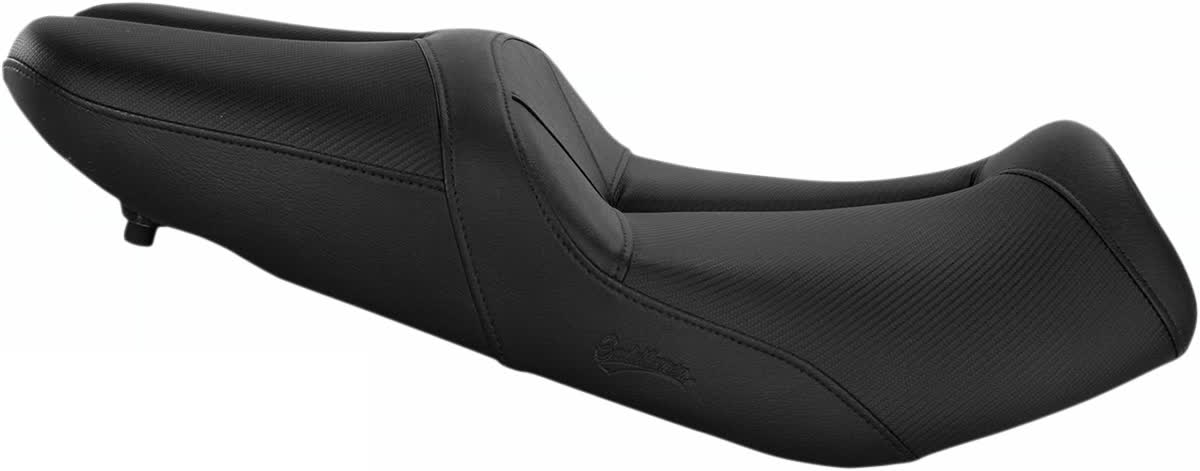 Saddlemen 0810-S047 Gel-Channel Track One-Piece Solo Seat with Rear Cover