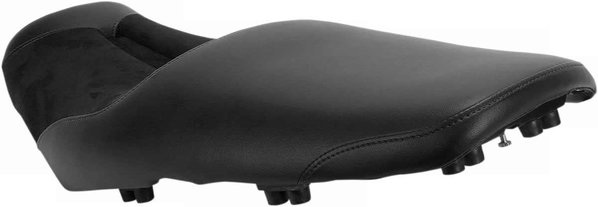 Saddlemen 0810-K021 Gel-Channel Sport One-Piece Solo Seat with Rear Cover