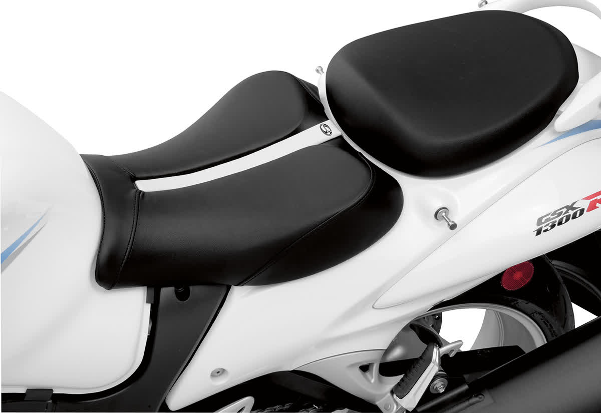 Saddlemen 0810-0822 Gel-Channel Track One-Piece Solo Seat with Rear Cover
