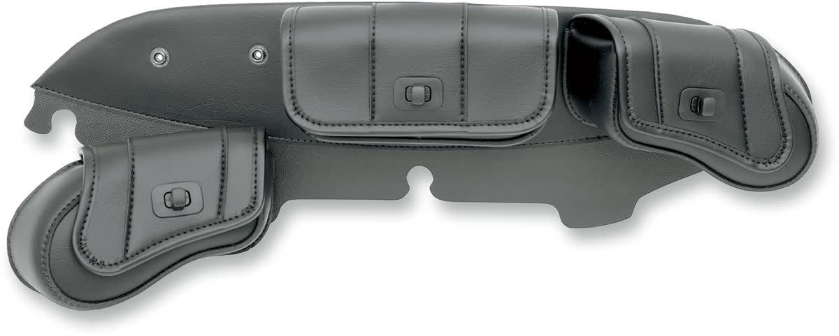 Saddlemen 3508-0015 Cruisn Deluxe 3-Pocket Windshield Bag
