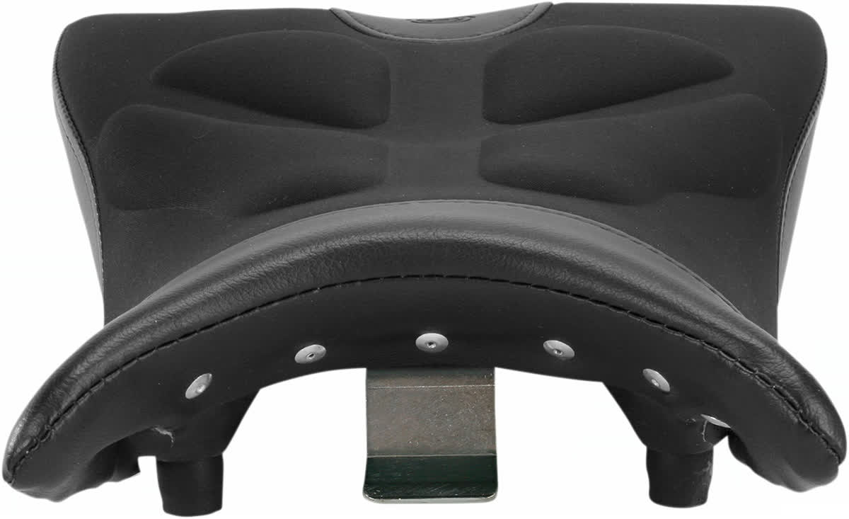 Saddlemen 0810-BM04 Gel-Channel Tech One-Piece Solo Seat with Rear Cover