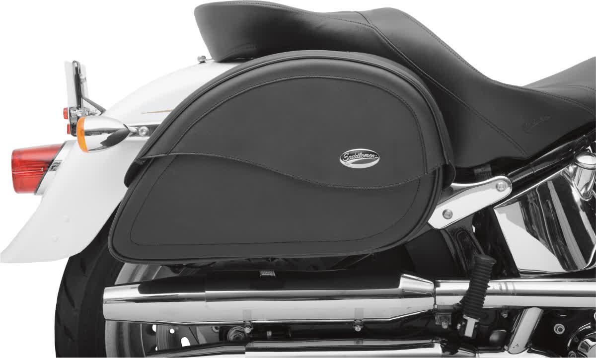 Saddlemen 3501-0456 Cruisn Teardrop Saddlebag  Jumbo