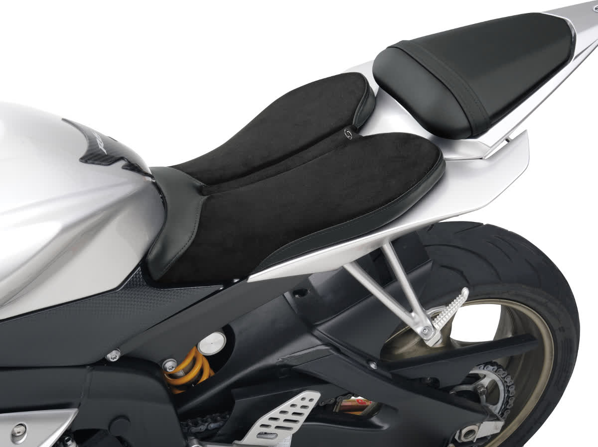 Saddlemen 0810-0793 Gel-Channel Sport One-Piece Solo Seat with Rear Cover