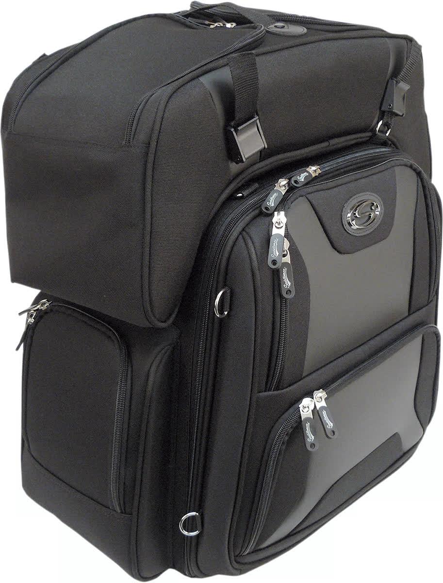 Saddlemen 3515-0142 FTB3600 Sport Sissy Bar and Combo Bag