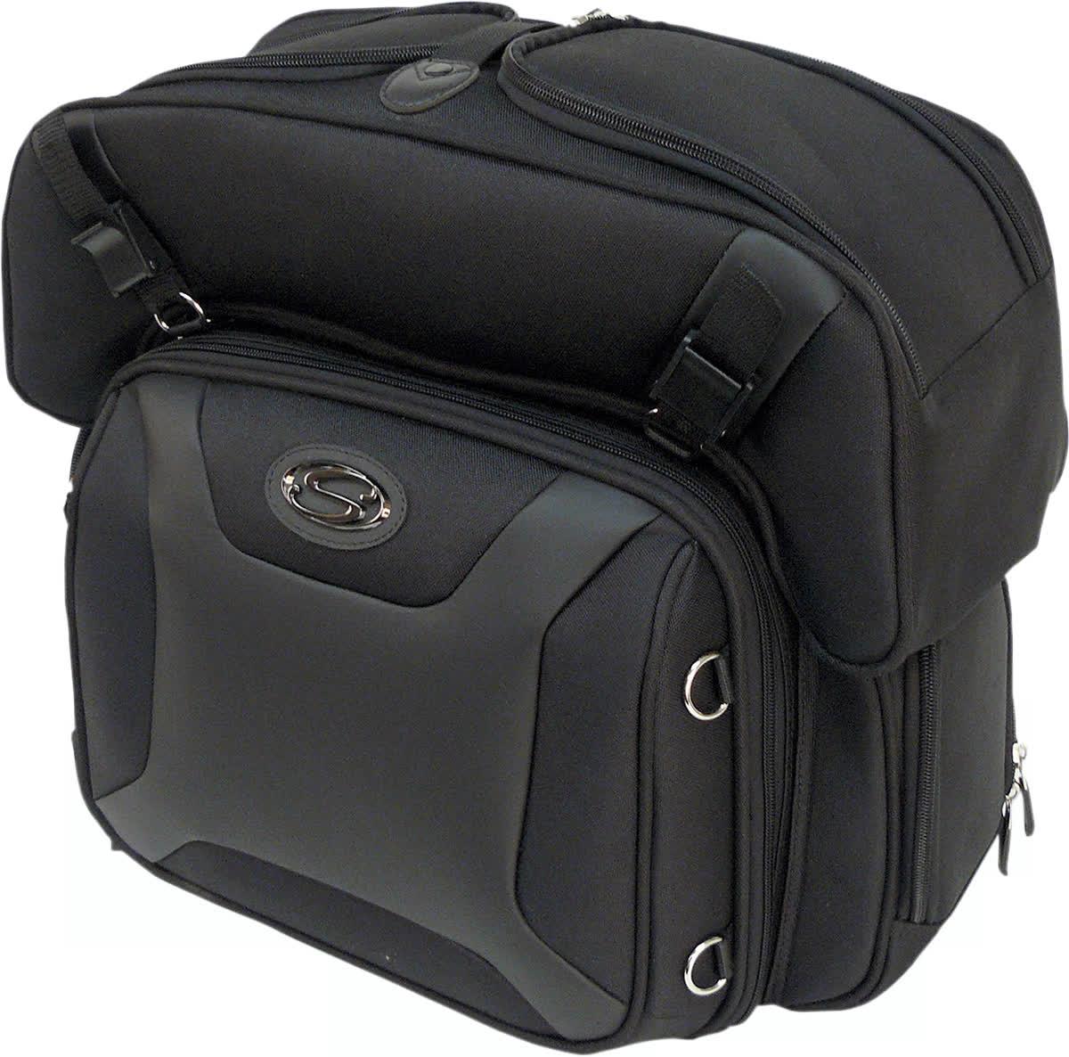 Saddlemen 3515-0141 FTB2500 Sport Sissy Bar and Combo Bag