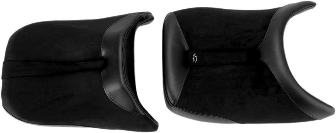 Saddlemen 0810-0799 Gel-Channel Sport One-Piece Solo Seat with Rear Cover
