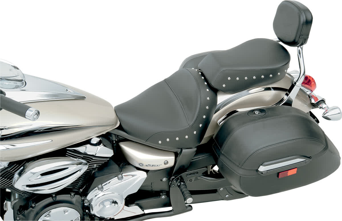 Saddlemen Y09-14-015 Renegade Deluxe Solo Touring Pillion Pad with Studs