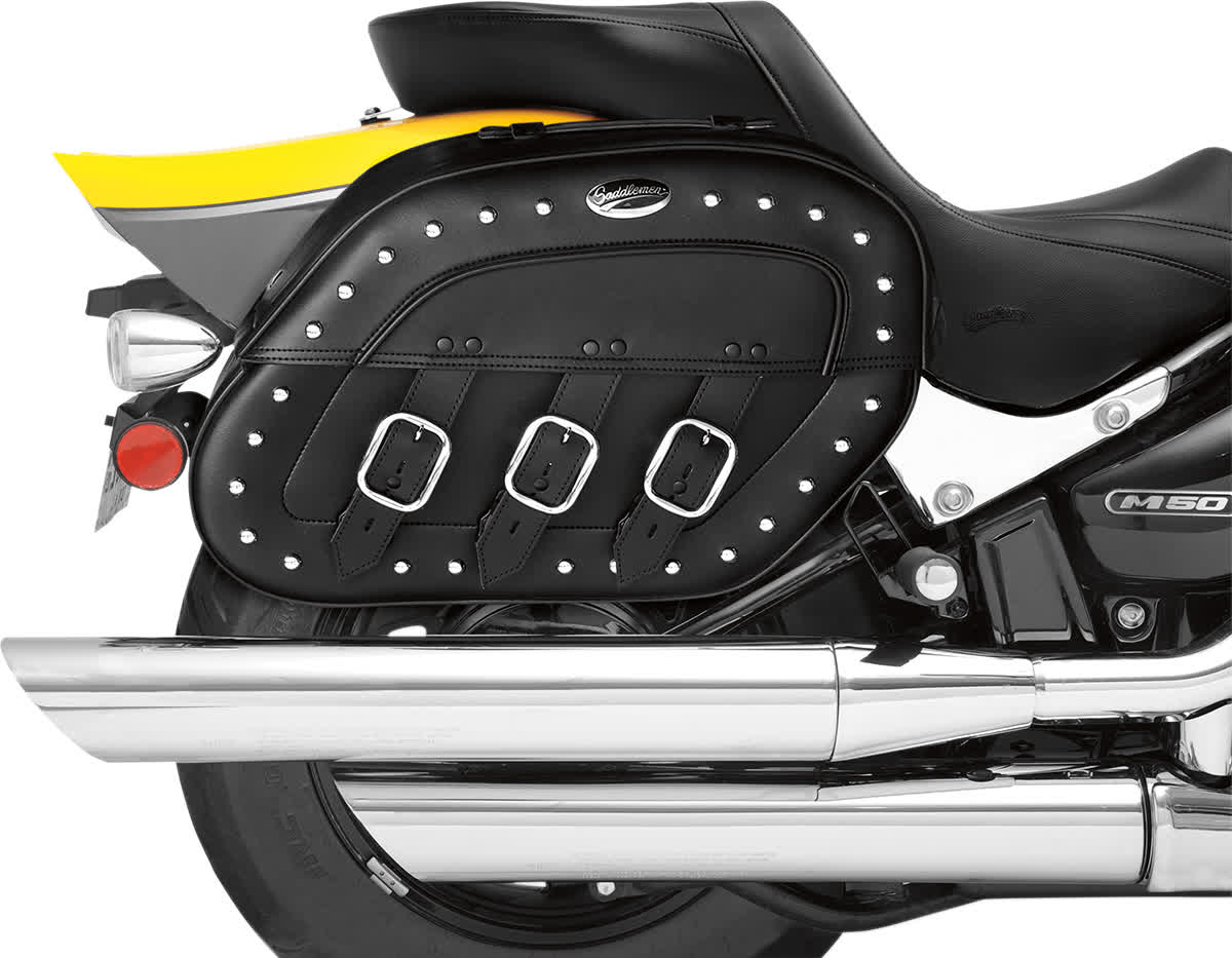Saddlemen 3501-0513 S4 Rigid-Mount Specific-Fit Quick-Disconnect Saddlebags