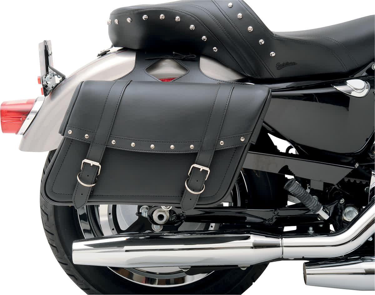 Saddlemen X021-03-040 Highwayman Slant-Style Saddlebag