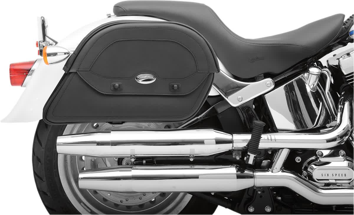 Saddlemen 3501-0438 Cruisn Slant Saddlebag  Custom Fit Jumbo