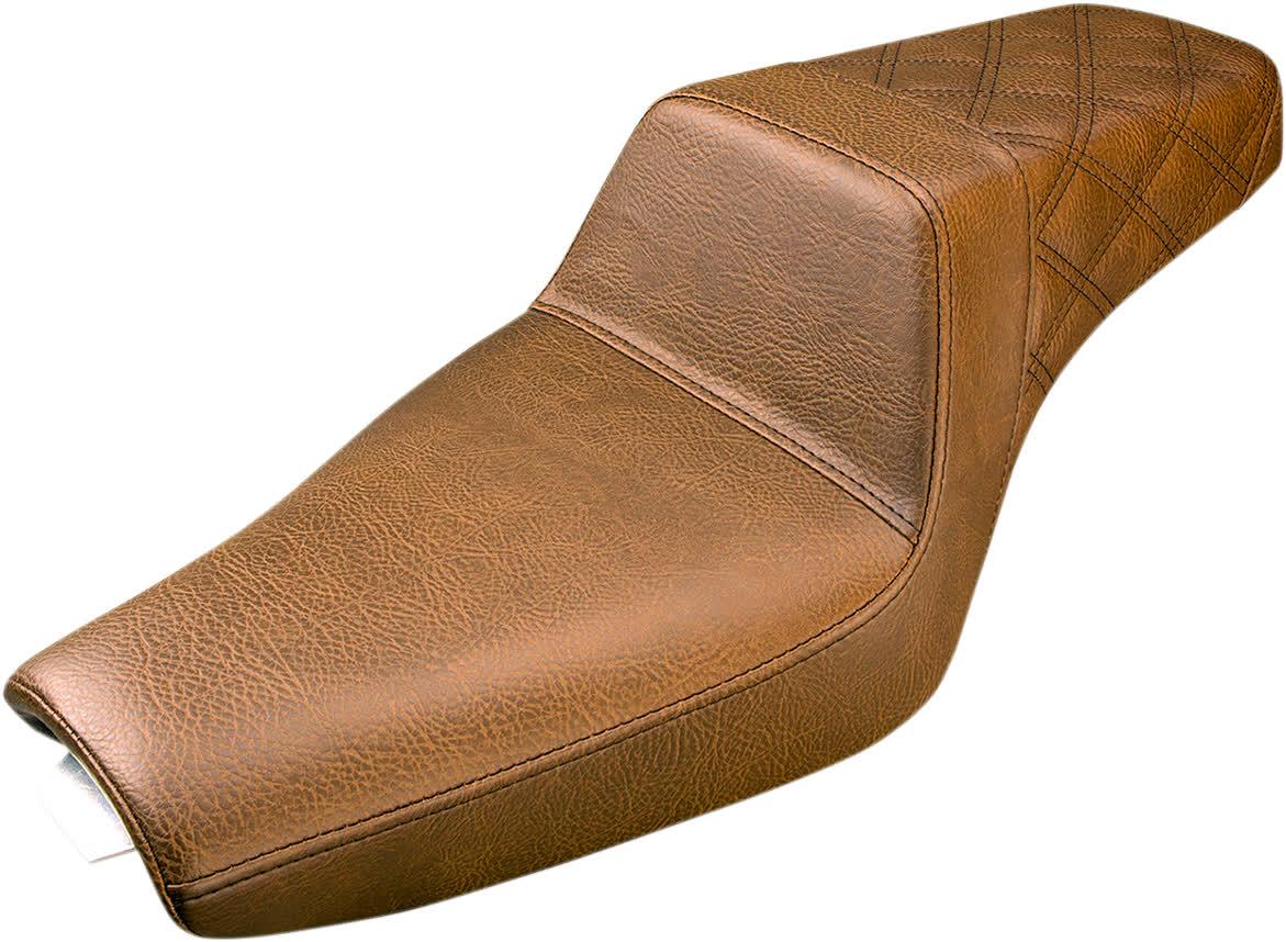 Saddlemen 807-03.173BR Seat Stepup Brn Rr Ls 3.3 0804-0689