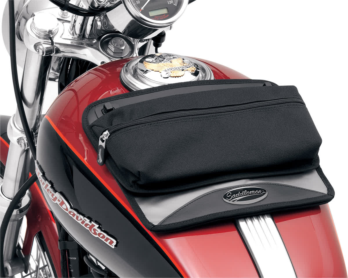 Saddlemen 3502-0136 Tank Map Pouches  Medium with Suction Cup Bottom