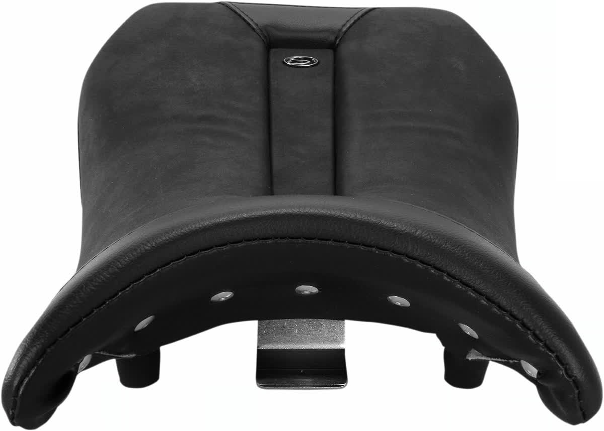 Saddlemen 0810-BM18 Gel-Channel Sport One-Piece Solo Seat with Rear Cover