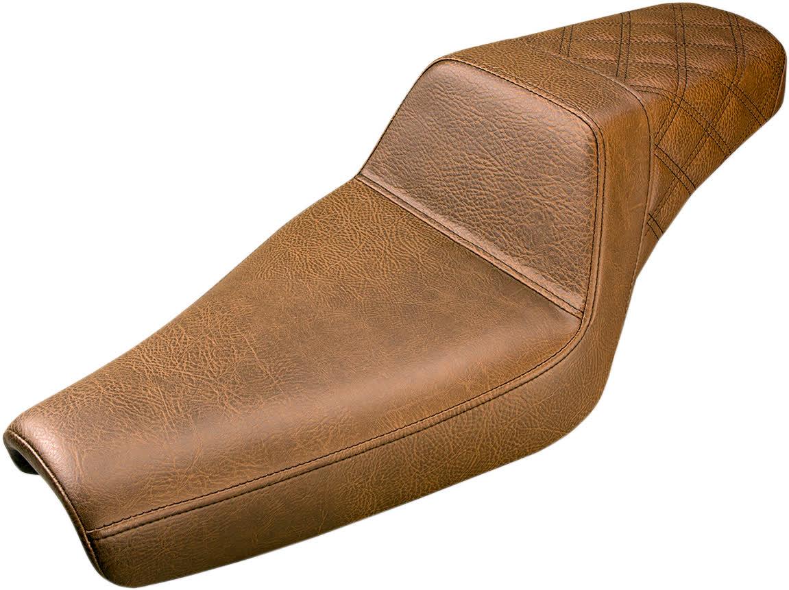 Saddlemen 807-11.173BR Seat Stepup Brn Rr Ls 4.5 0804-0688