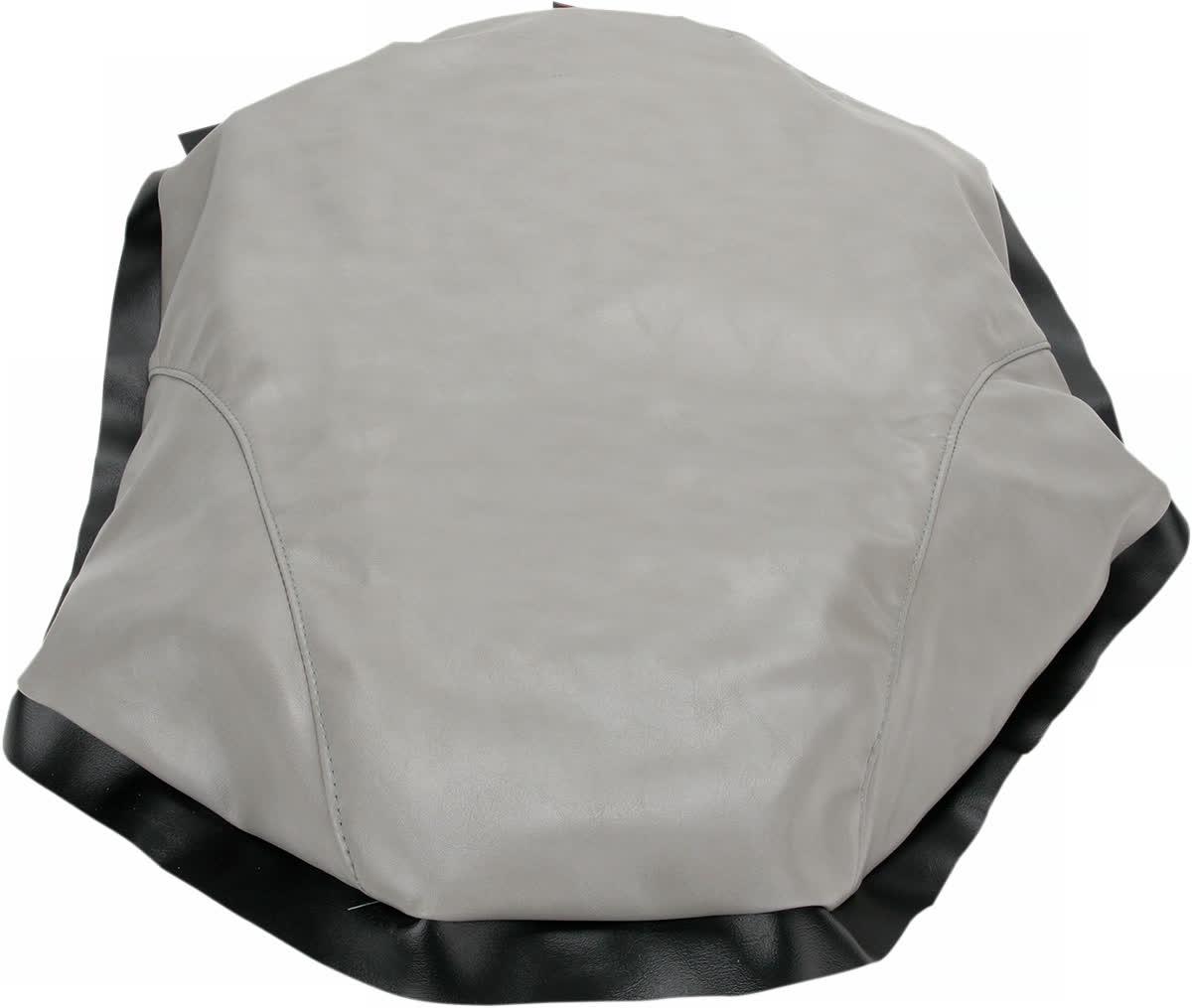 Saddlemen AM9512 Saddleskin Seat Cover  Gray