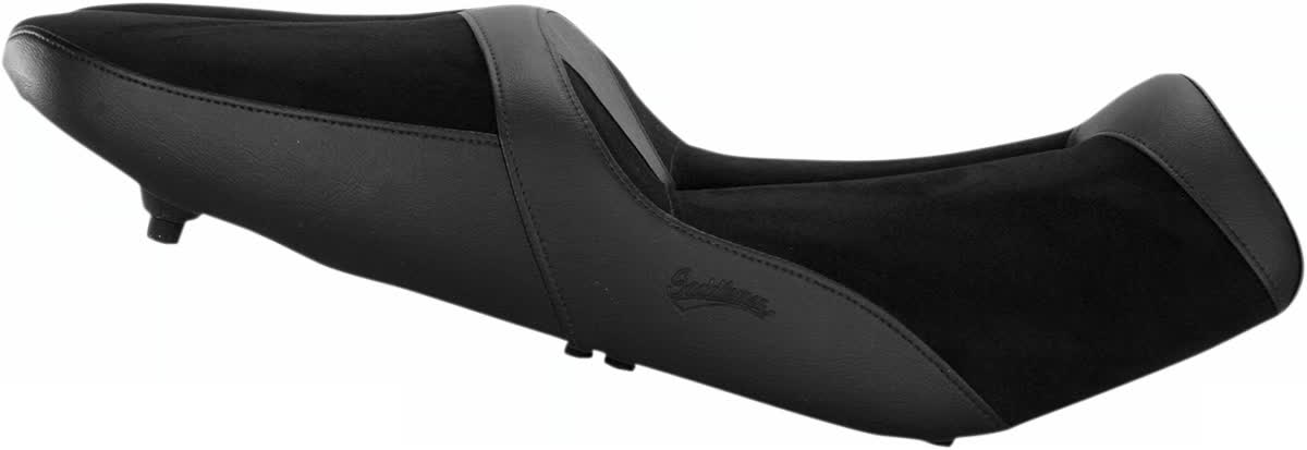 Saddlemen 0810-S048 Gel-Channel Sport One-Piece Solo Seat with Rear Cover