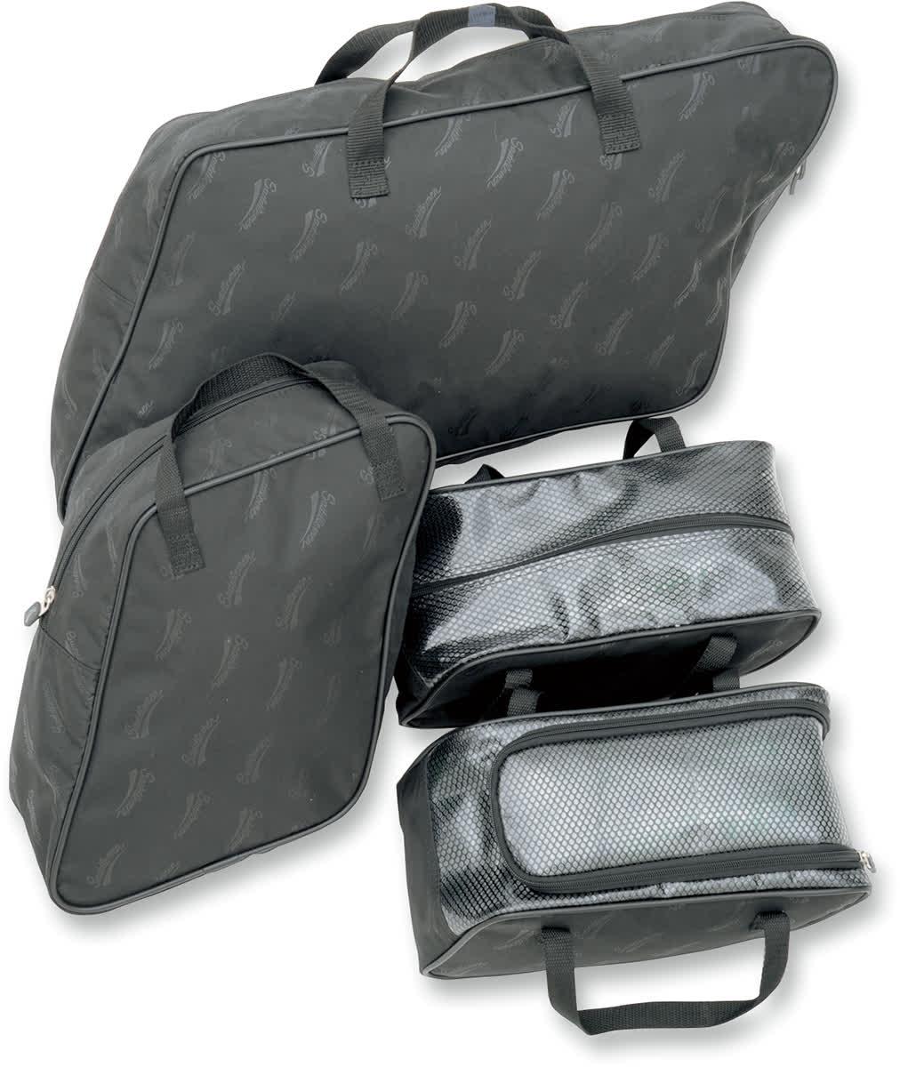 Saddlemen 3501-0712 Saddlebag Packing Cube Liner Set FLHT-Style Hard Saddlebag