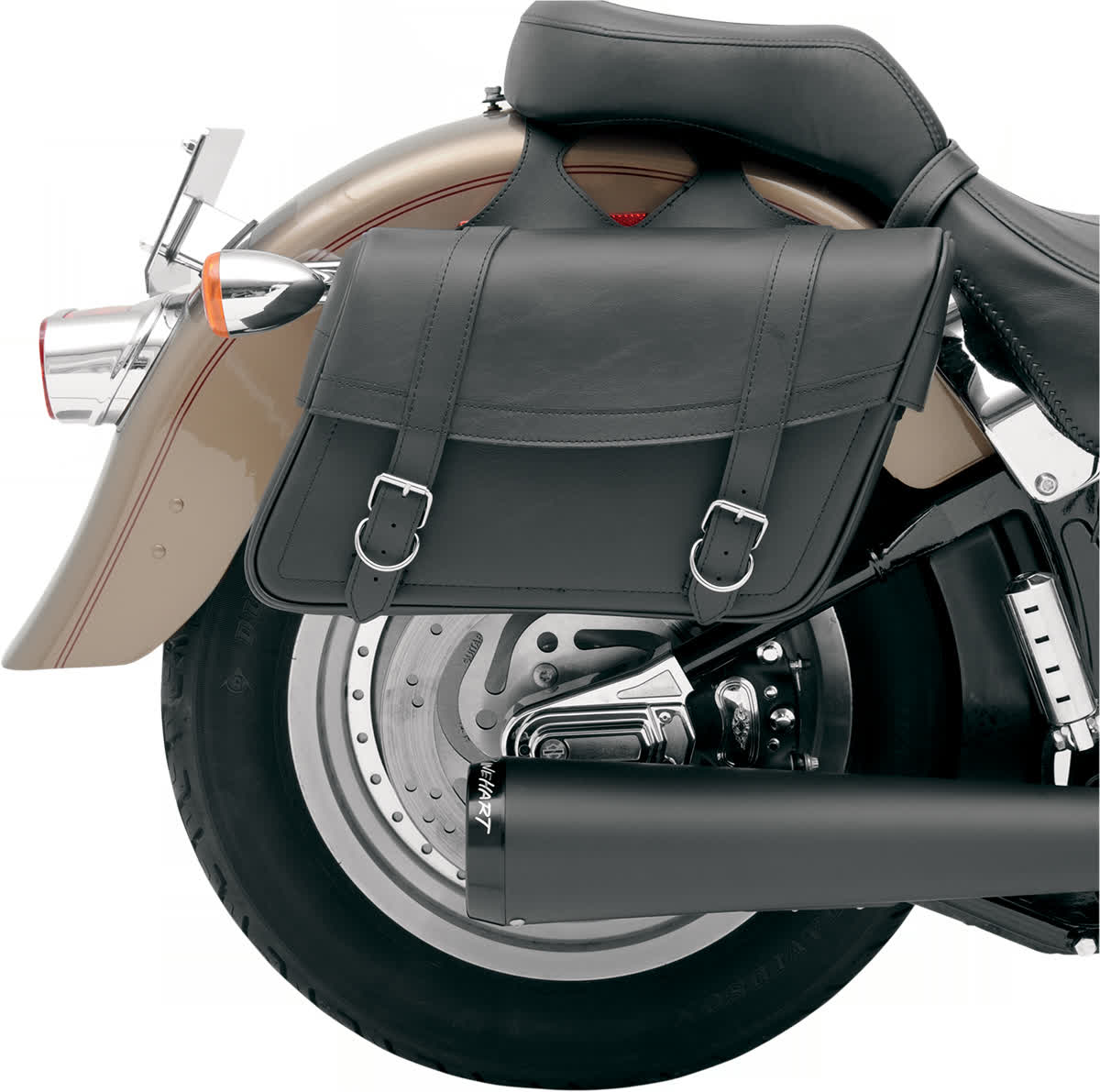 Saddlemen X021-02-041 Highwayman Slant-Style Saddlebag