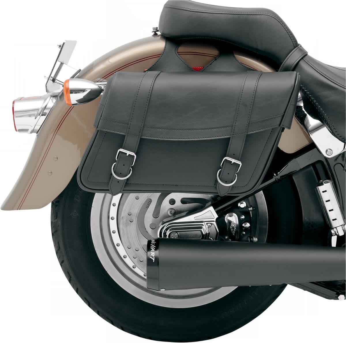 Saddlemen X021-02-040 Highwayman Slant-Style Saddlebag