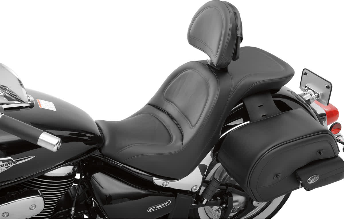 Saddlemen S05-06-030 Explorer Seat with Driver Backrest