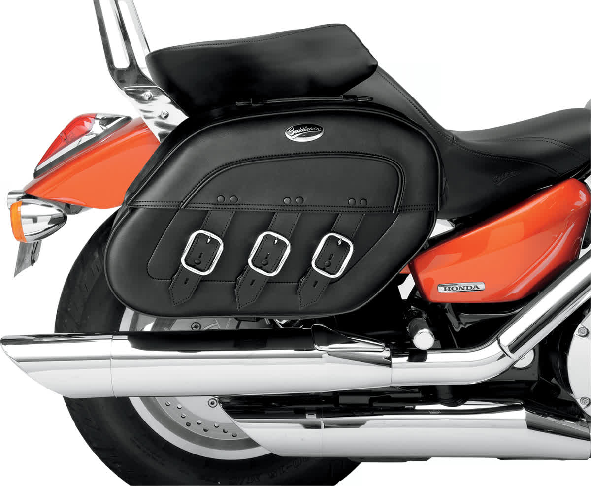 Saddlemen 3501-0397 S4 Rigid-Mount Specific-Fit Quick-Disconnect Saddlebags