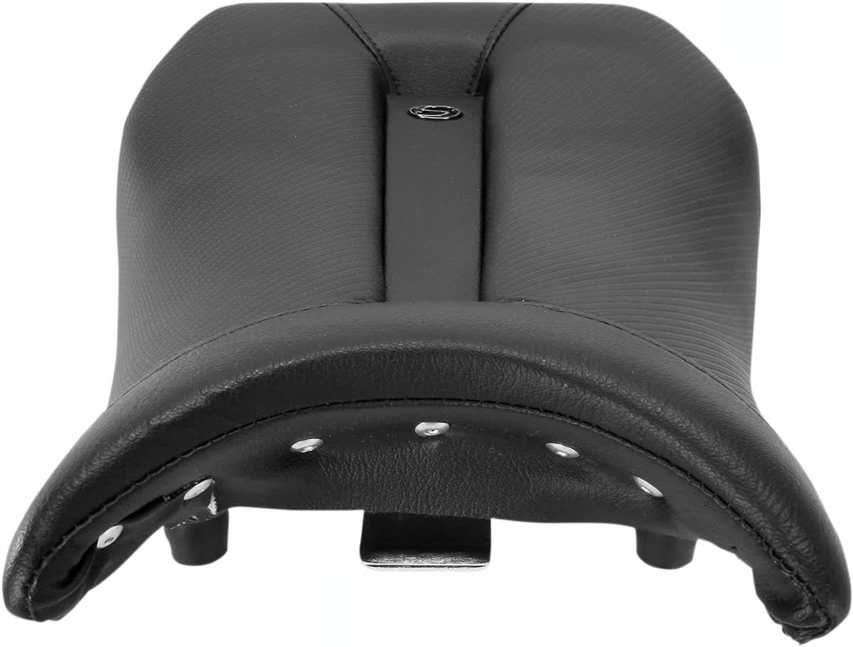 Saddlemen 0810-BM17 Gel-Channel Track One-Piece Solo Seat with Rear Cover