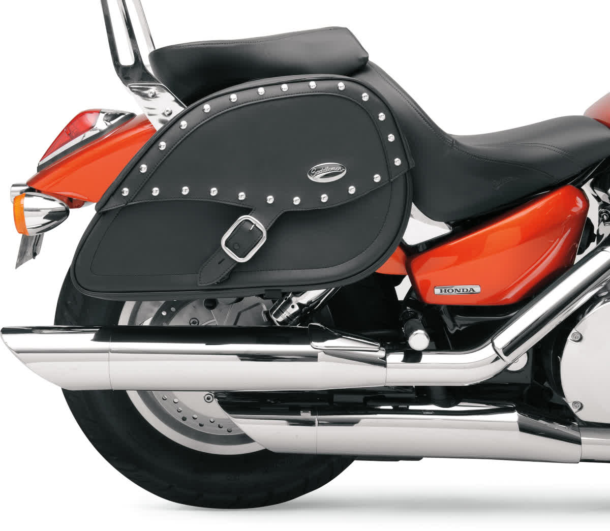 Saddlemen 3501-0510 Rigid-Mount Specific-Fit Teardrop Saddlebags  Desperado