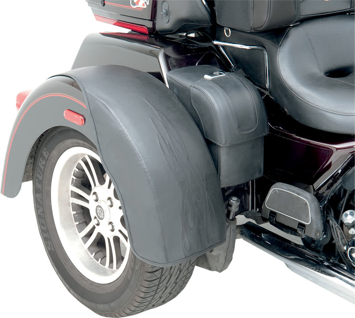 Saddlemen 1414-0014 Tattoo Rear Fender Bra Set