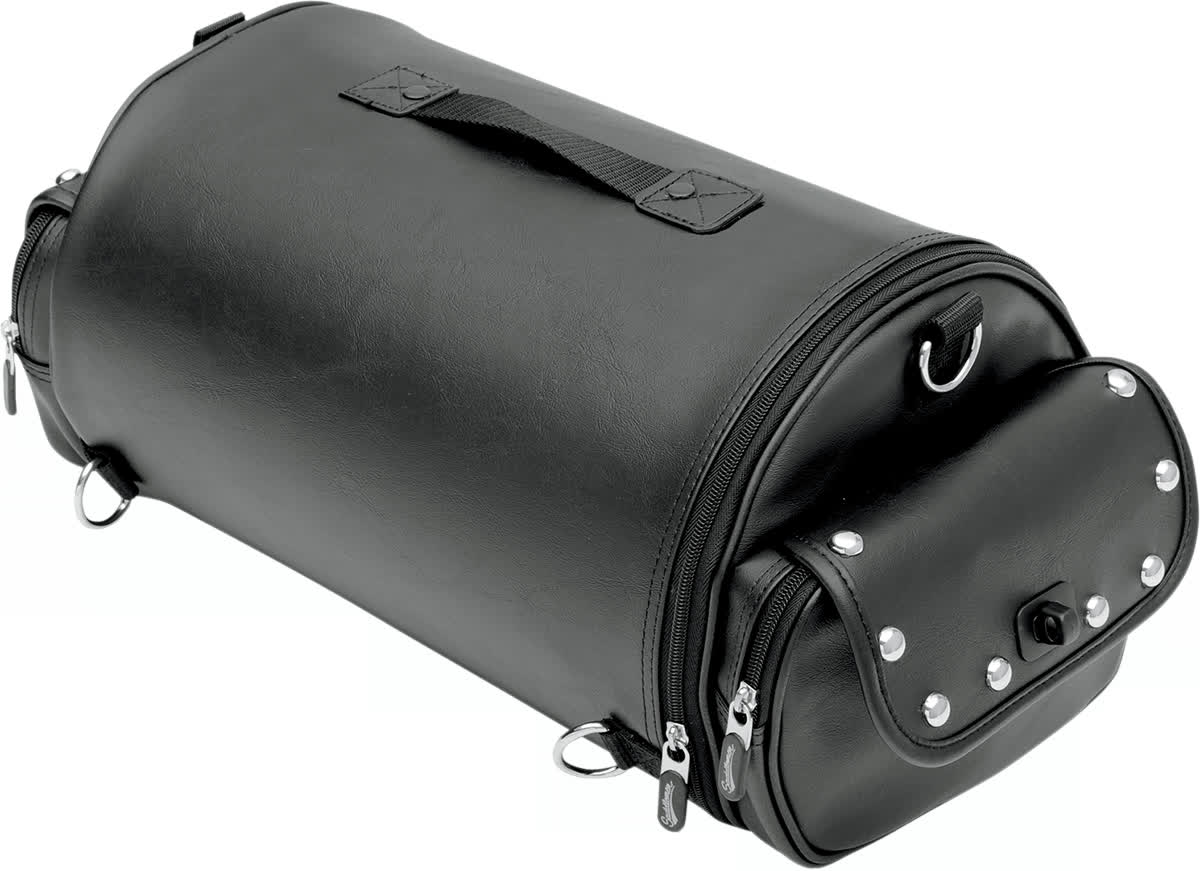 Saddlemen 3515-0117 EXR1000S Roll Bag  Desparado-Style Rambler with Studs