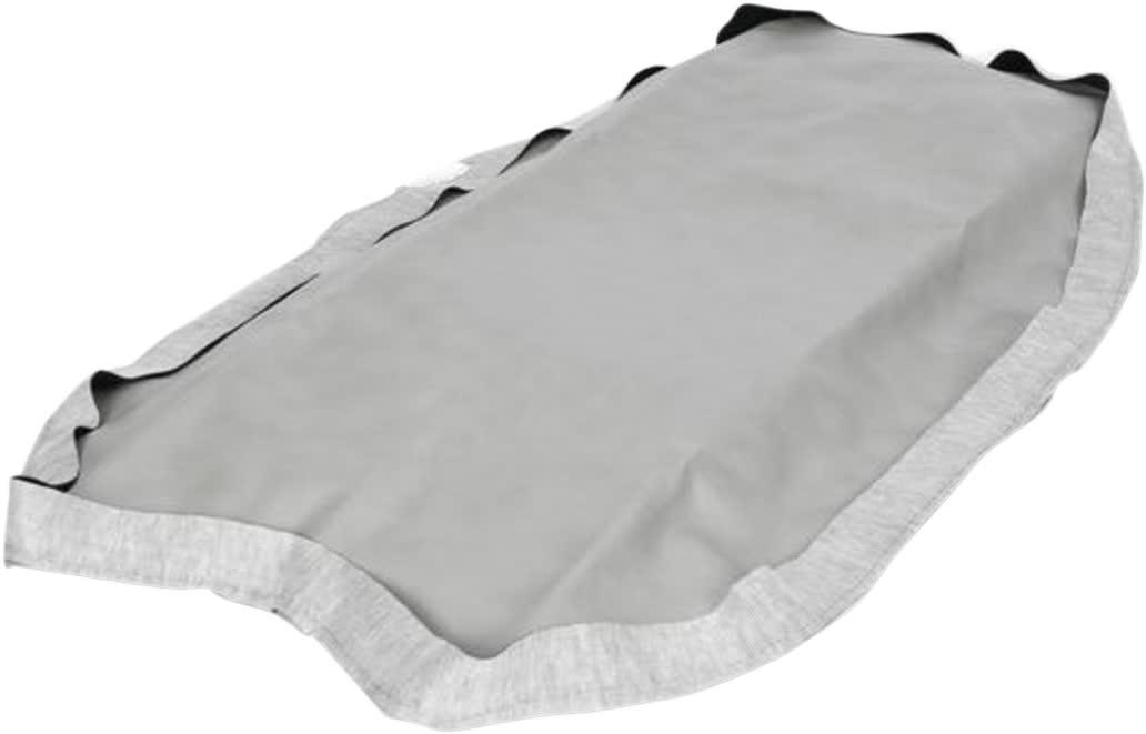 Saddlemen AM576 Saddleskin Seat Cover  Gray