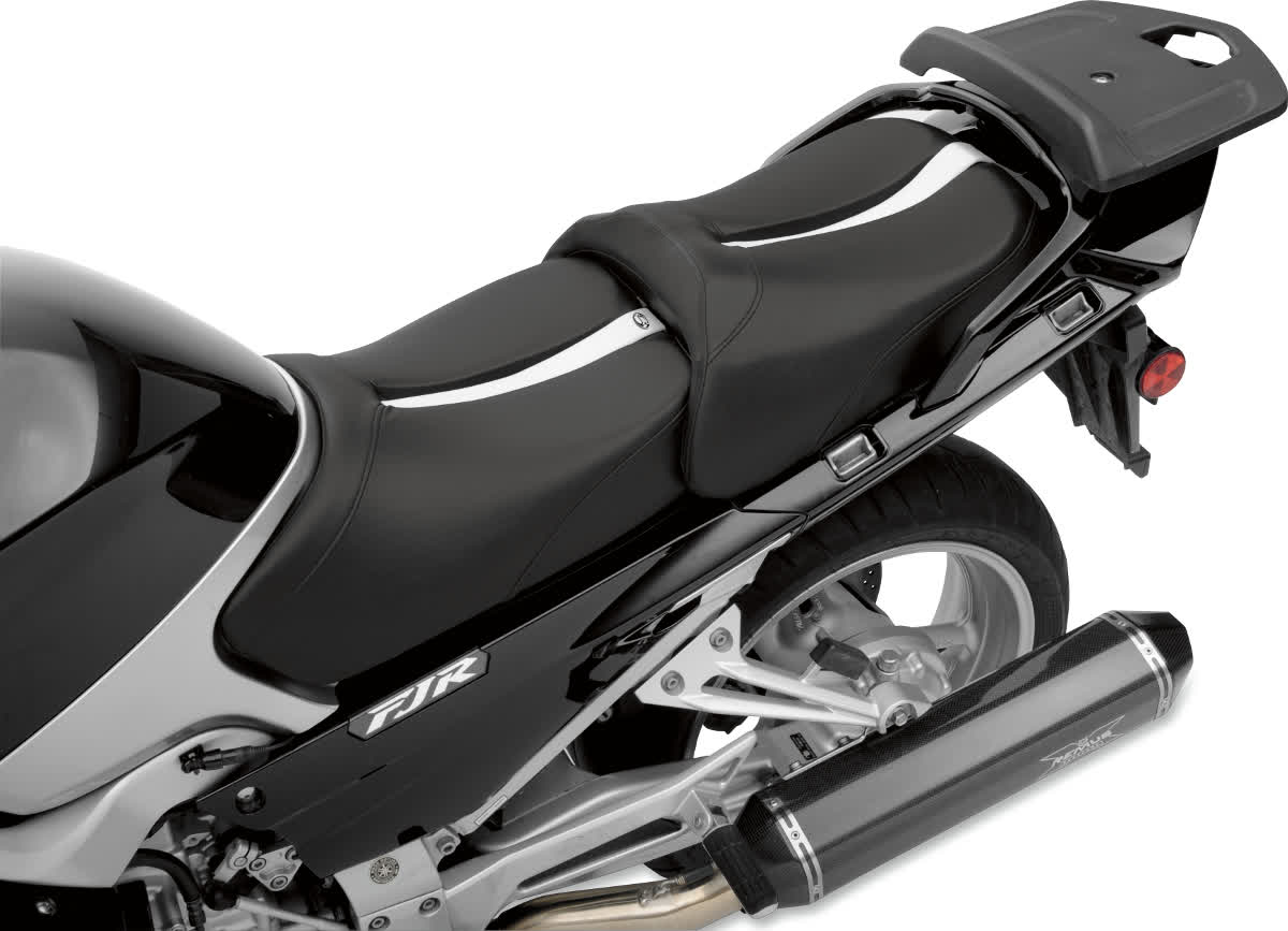 Saddlemen 0810-0798 Gel-Channel Track One-Piece Solo Seat with Rear Cover