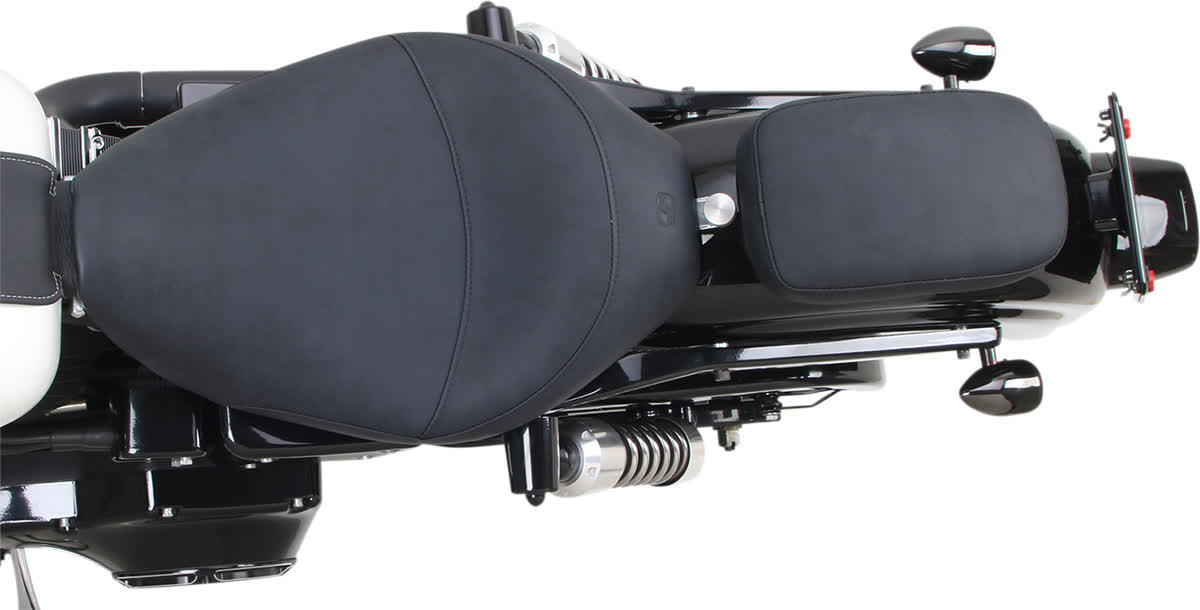 Saddlemen SA1019 S3 Element-Resistant Distressed Saddlehyde Phantom Pad