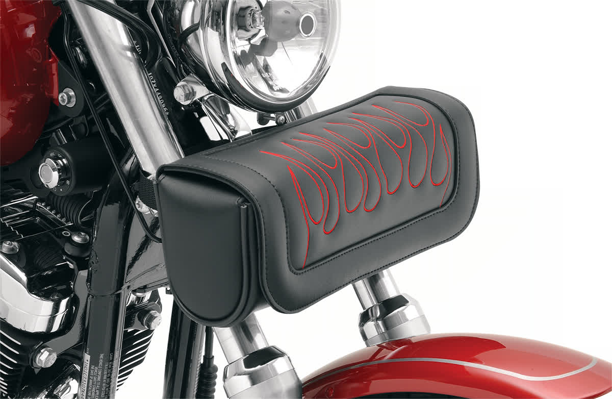 Saddlemen X021-05-0032 Highwayman Tattoo Tool Pouch  Red