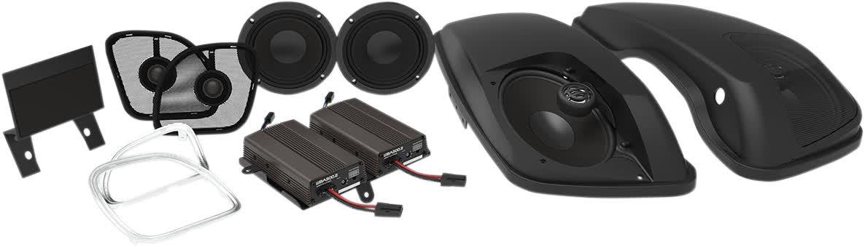 Hogtunes Wild Boar WBA BIG PIG RG 600 Watt Amp w/6x9 Speakers & Lids 15+ FLTR