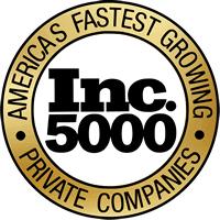 Award Badge from Inc. 5000