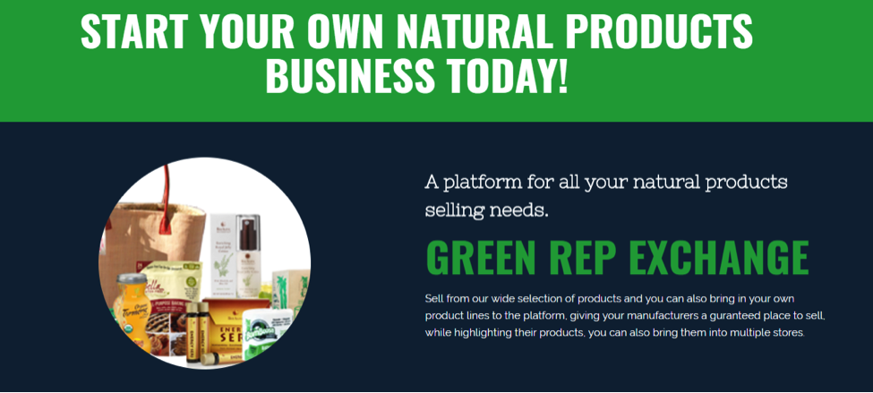 Green Rep Exchange Business Opportunity