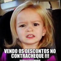 VENDO OS DESCONTOS NO CONTRACHEQUE !!!