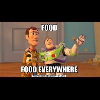 FOODFOOD EVERYWHERE