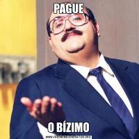 PAGUEO BÍZIMO