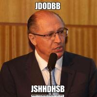 JDODBBJSHHDHSB