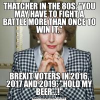 THATCHER IN THE 80S: