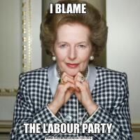 I BLAME THE LABOUR PARTY