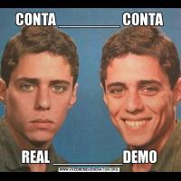CONTA _______ CONTAREAL ________DEMO