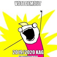 VOTE DEMOUT2019/2020 KAG